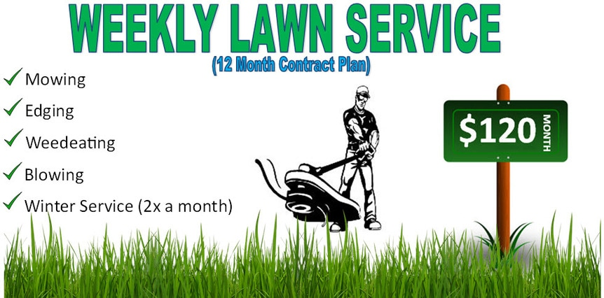 Weekly Lawn Service